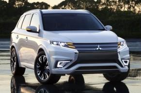 Mitsubishi Outlander PHEV doczekało się liftingu